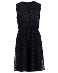 J.Crew Cocktail Dress Party Dress Blacknavy