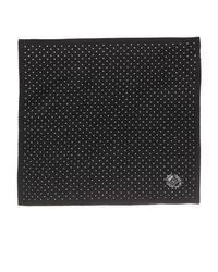 Dolce & Gabbana Polka Dot Silk Pocket Square