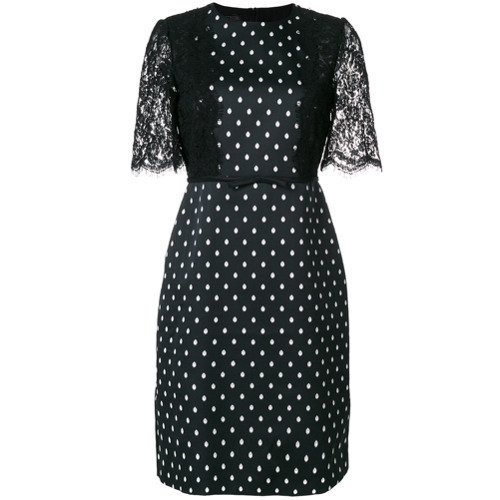 e29e9c01484 ... Giambattista Valli Polka Dot Shift Dress ...