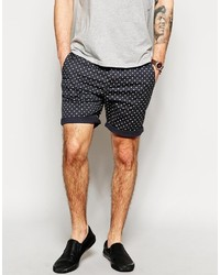 Asos Brand Chino Shorts In Shorter Length With Polka Dots Co Ord ...