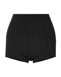 Marc Jacobs Embroidered Stretch Knit Shorts