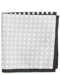 Eton Dot Silk Pocket Square