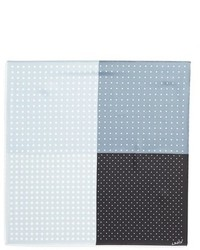 Polka dot silk pocket square medium 601708