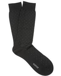 Gadsbury pin dot cotton blend socks medium 727580