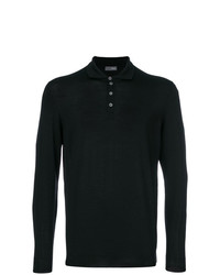 Drumohr Long Sleeve Polo Shirt