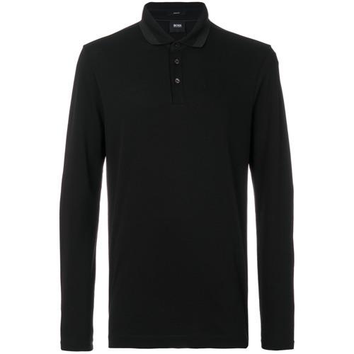 29820663a BOSS HUGO BOSS Long Sleeve Polo Shirt, £124 | farfetch.com ...