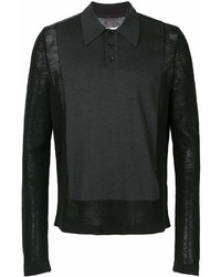Maison Margiela Long Sleeve Polo Top