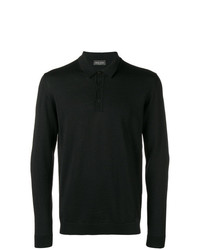 Roberto Collina Long Sleeved Polo Shirt