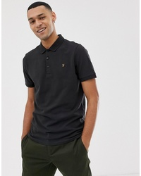 Farah Blaney Polo In Black