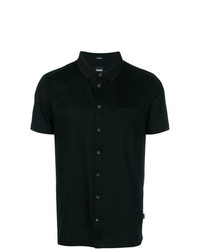 BOSS HUGO BOSS Buttoned Polo Shirt