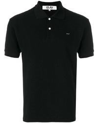 Comme Des Garcons Play Comme Des Garons Play Embroidered Logo Polo Shirt