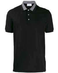 Salvatore Ferragamo Contrasting Collar Polo Shirt