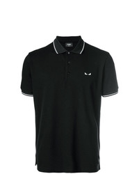 Fendi Short Sleeve Polo Shirt