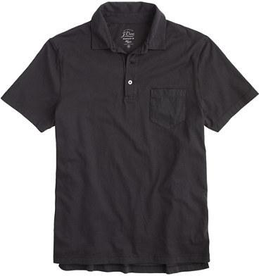 0bbbc363 J.Crew Slim Broken In Pocket Polo Shirt, £27 | J.Crew | Lookastic UK