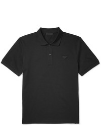 Slim fit cotton piqu polo shirt medium 815123
