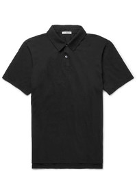 James Perse Slim Fit Supima Cotton Jersey Polo Shirt
