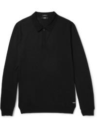 Hugo Boss Slim Fit Virgin Merino Wool Polo Shirt