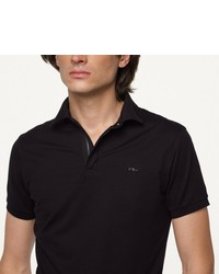 Ralph Lauren Black Label Stretch Mesh Polo Shirt