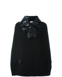 Moncler Padded Collar Knitted Cape