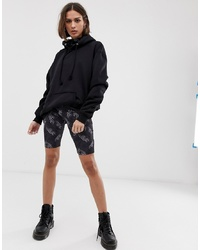 The Ragged Priest Legging Shorts In All Over Print Co Ord