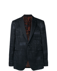 Etro Jacquard Collage Blazer
