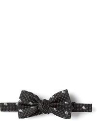 Alexander McQueen Skull Bow Tie