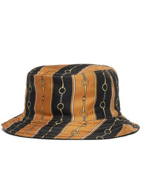 Gucci Reversible Velvet And Printed Twill Bucket Hat