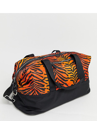 Skinnydip Corrine Orange Tiger Gym Bag