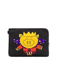Dolce & Gabbana Pig Print Pouch