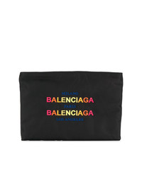 Balenciaga Pouch With Gradient Logo