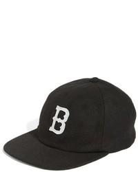 Brixton Wagner Snapback Cap Black
