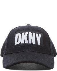 Opening Ceremony X Dkny Poly Baseball Hat In Black