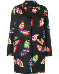 Moschino Boutique Butterfly Print Coat