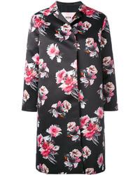 MSGM Flower Print Coat