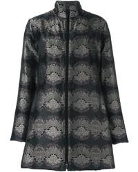 Etro Printed Flared Coat
