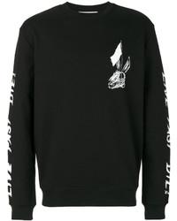 Alexander ueen skull print sweatshirt medium 3993579