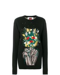 Bouquet intarsia jumper medium 8308838