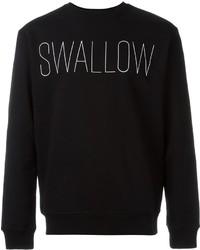 Mcq alexander mcqueen swallow print sweatshirt medium 612170