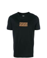 Fendi Ff Logo T Shirt