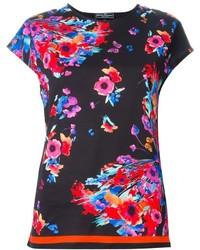 Salvatore Ferragamo Floral Print T Shirt