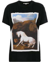 Stella McCartney Horse Print T Shirt