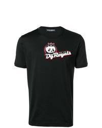 Dolce & Gabbana Panda Motif T Shirt