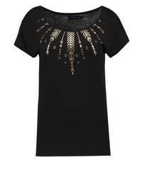 Print t shirt black medium 3898625