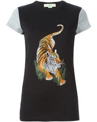 Stella McCartney Tiger Print T Shirt