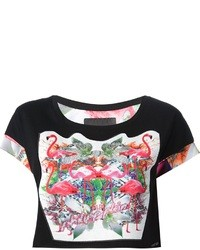 Philipp Plein Printed Crop Top