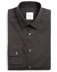 Paul Smith London Extra Trim Fit Dot Print Dress Shirt
