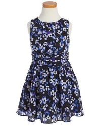Kate Spade New York Floral Print Sleeveless Dress
