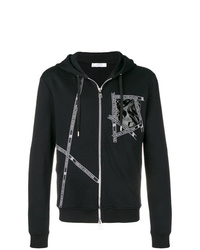 Versace Collection Logo Zipped Hoodie