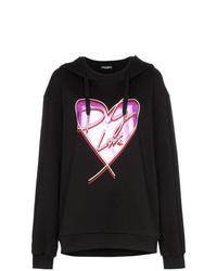 Dolce & Gabbana Love Heart Print Hoodie
