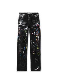 Off-White Paint Splattered Denim Jeans